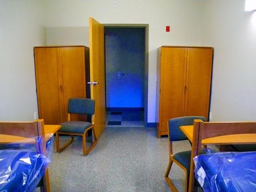 Dorm Room in millstream hall