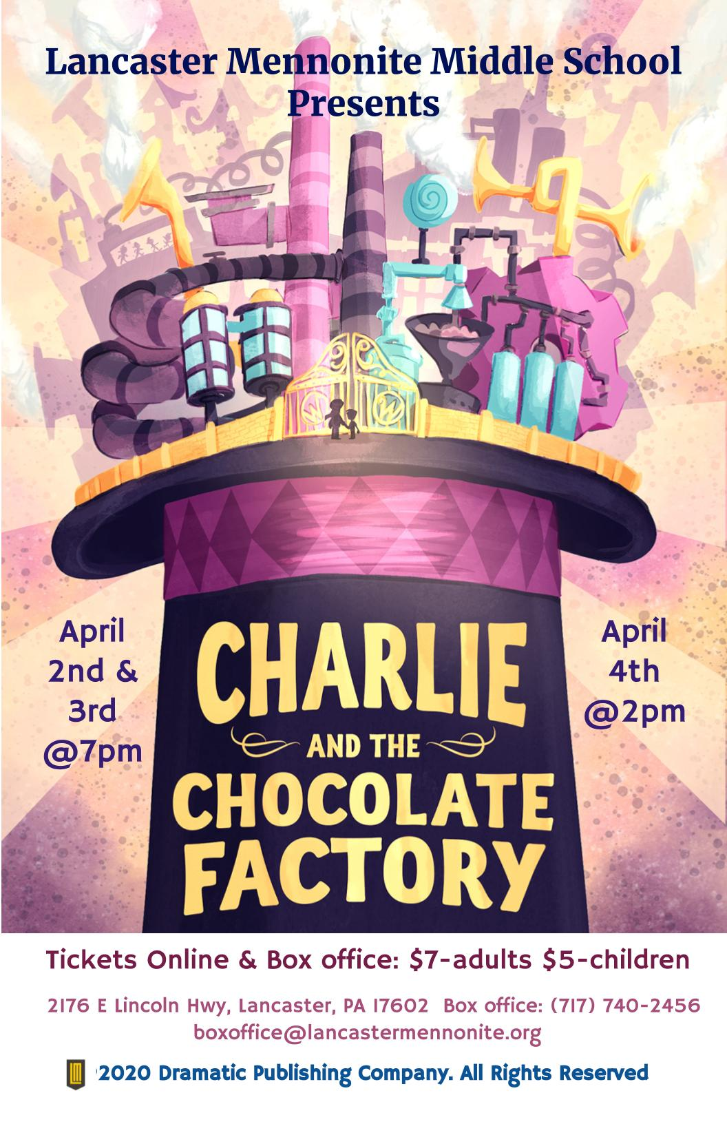 Charlie & Choc Factory Poster