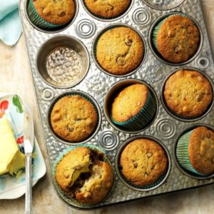taste of home chocolate chip muffins