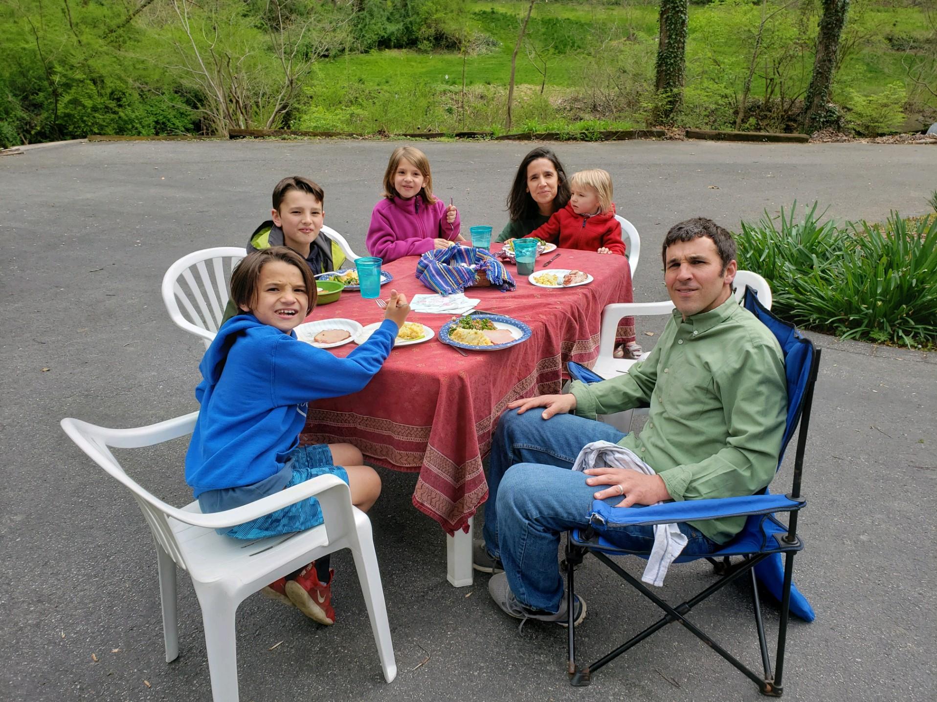 Jeremiah Denlinger and family