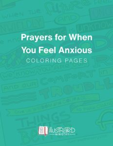 Coloring Pages when you feel anxious