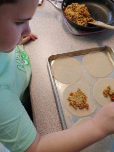 empanadas 1st grade ND