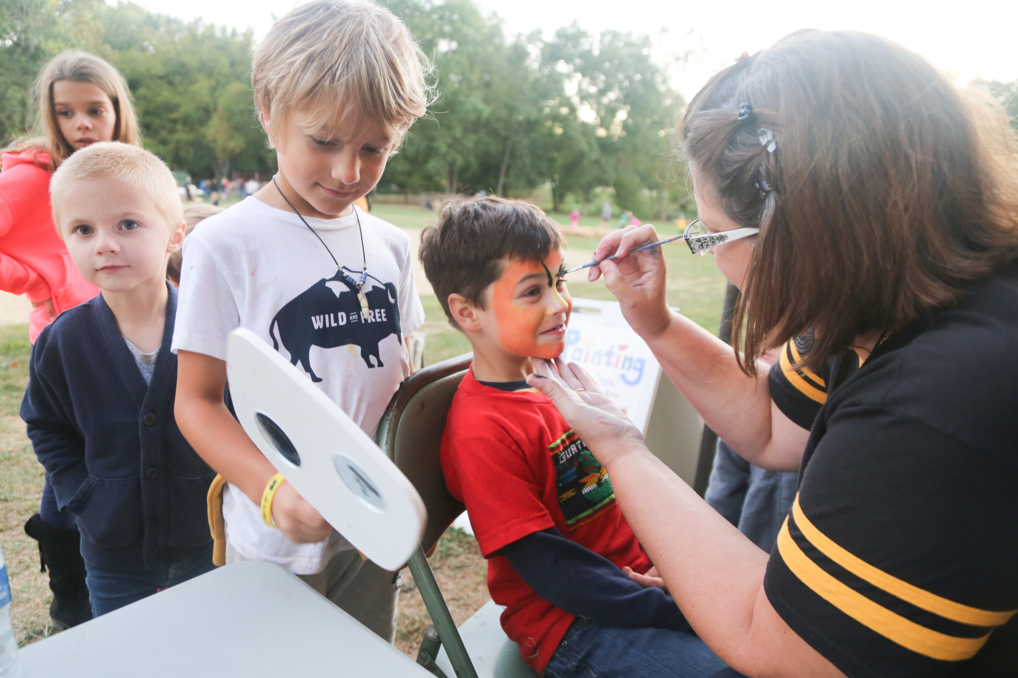 face painting homecoming 2019