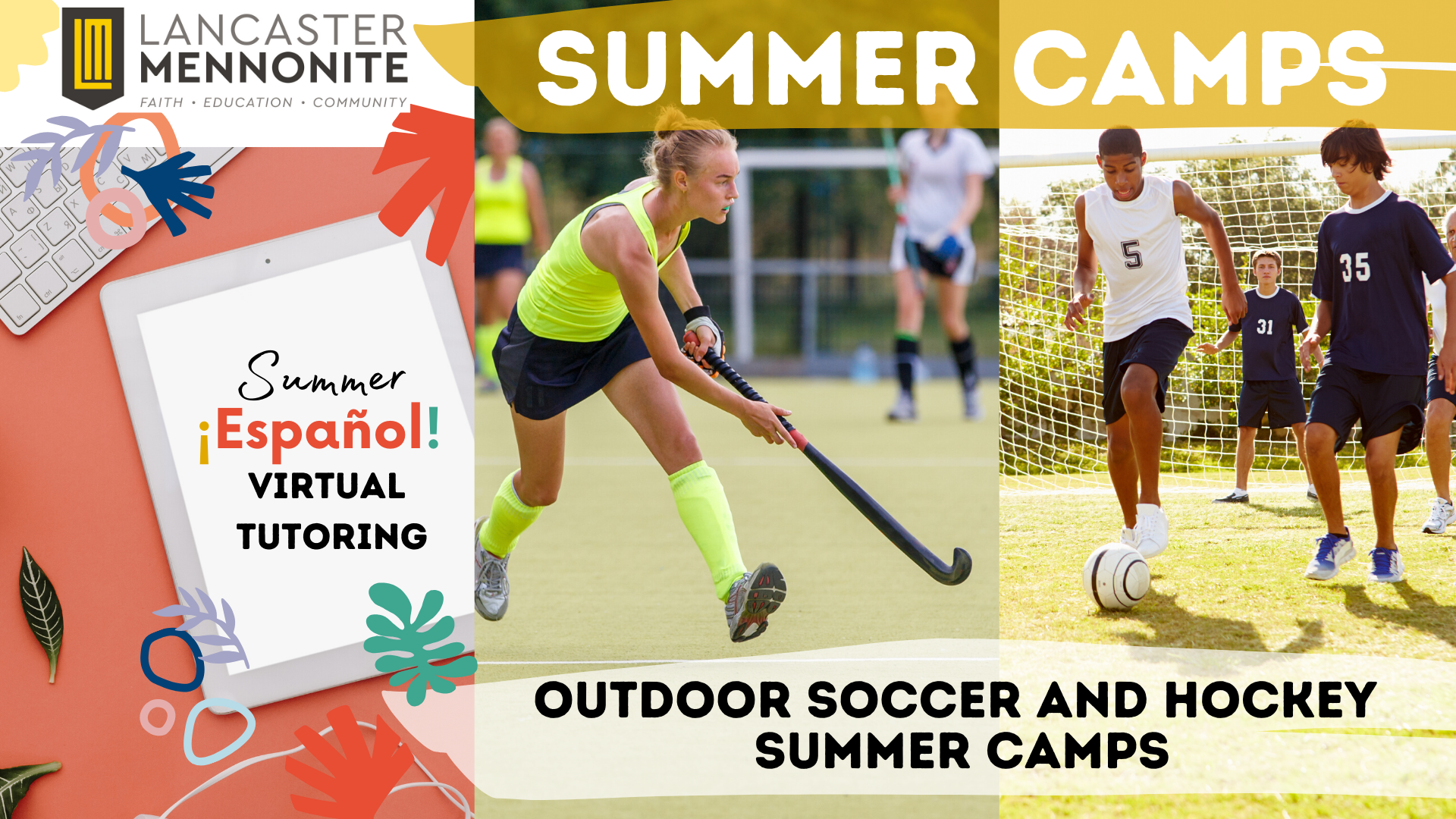 summer camp graphic 2020