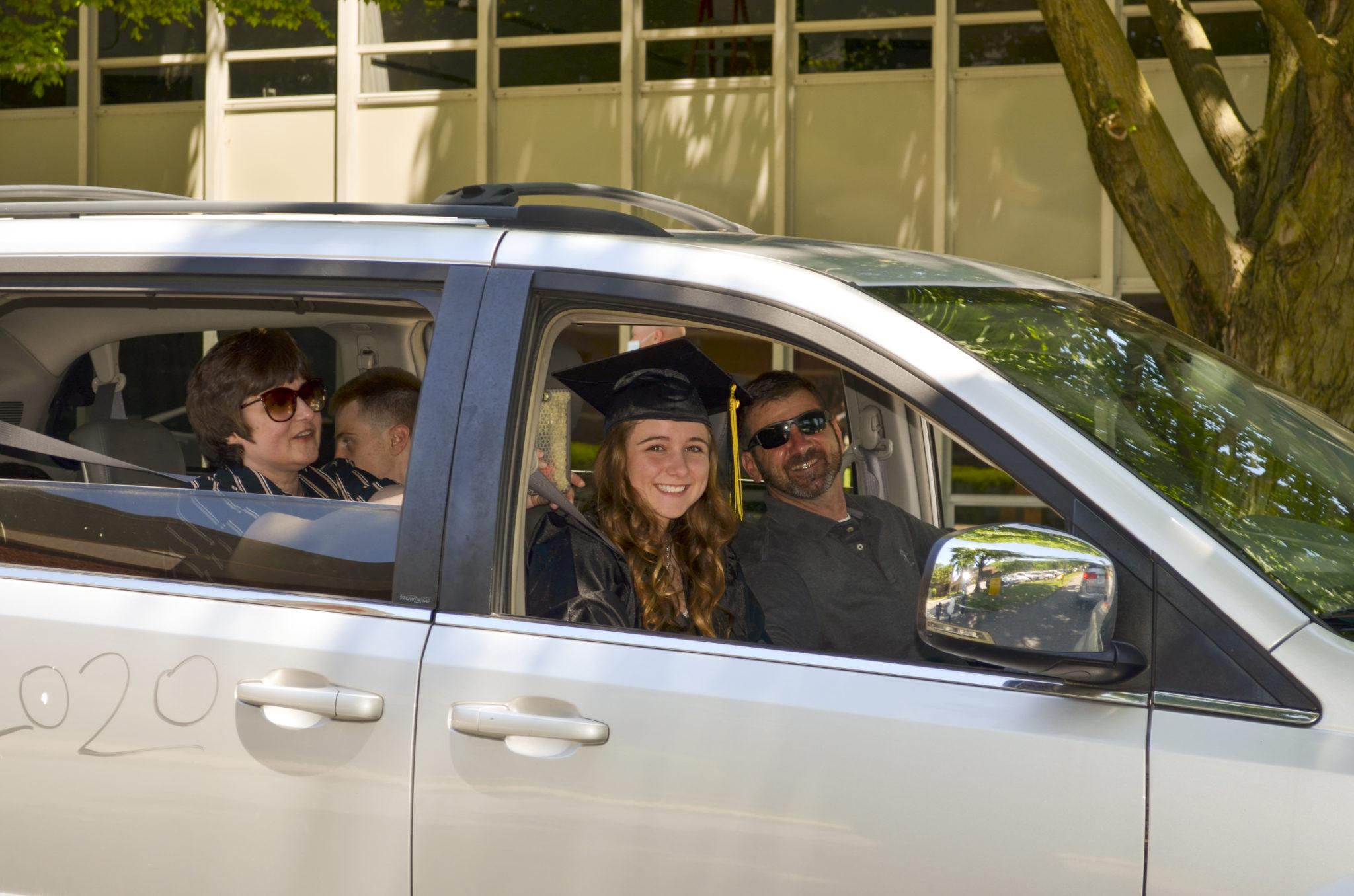drive thru graduation