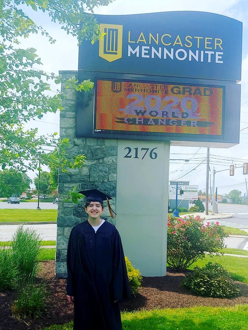 Student under grad sign