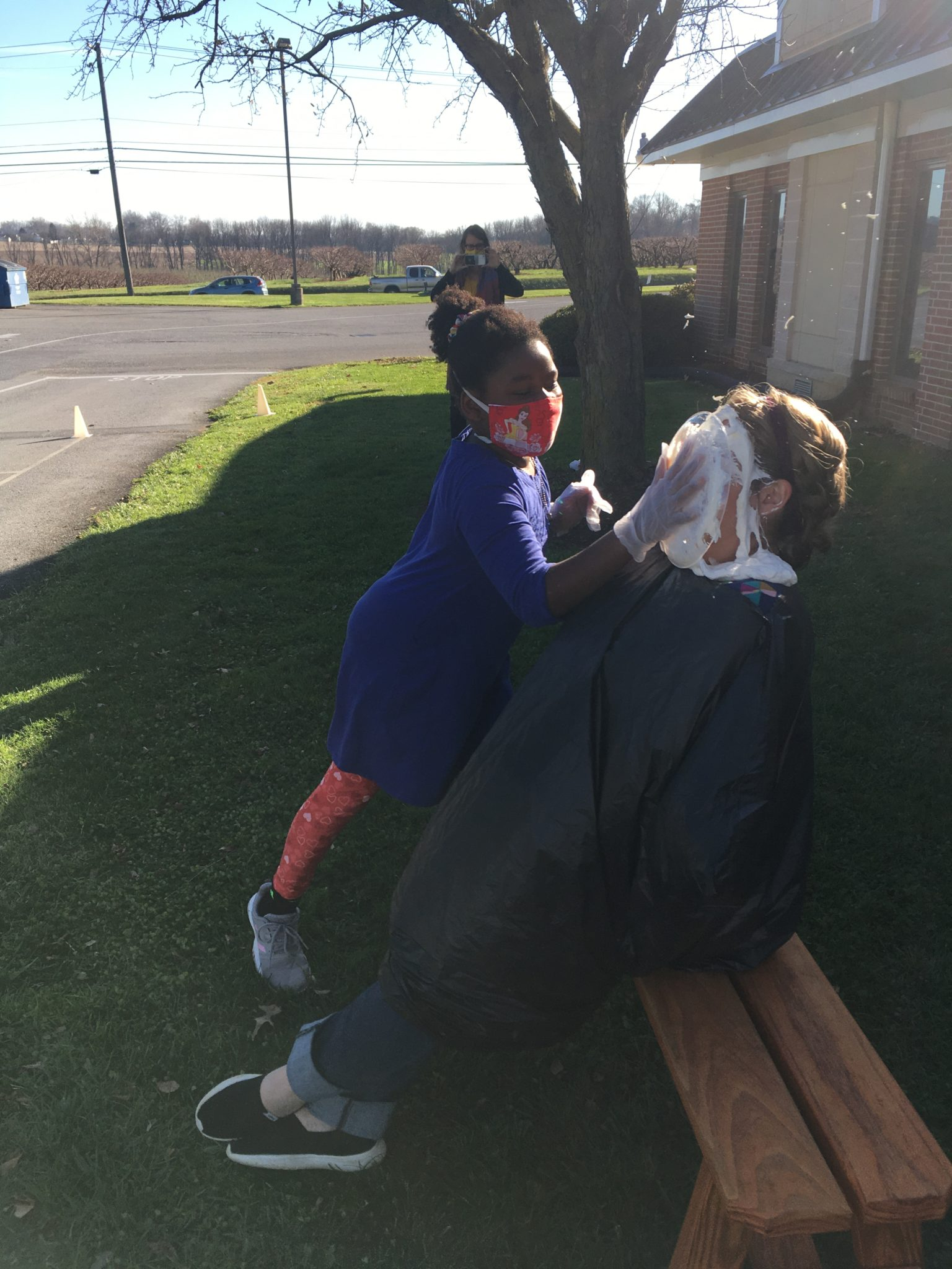 New Danville Pie in the face