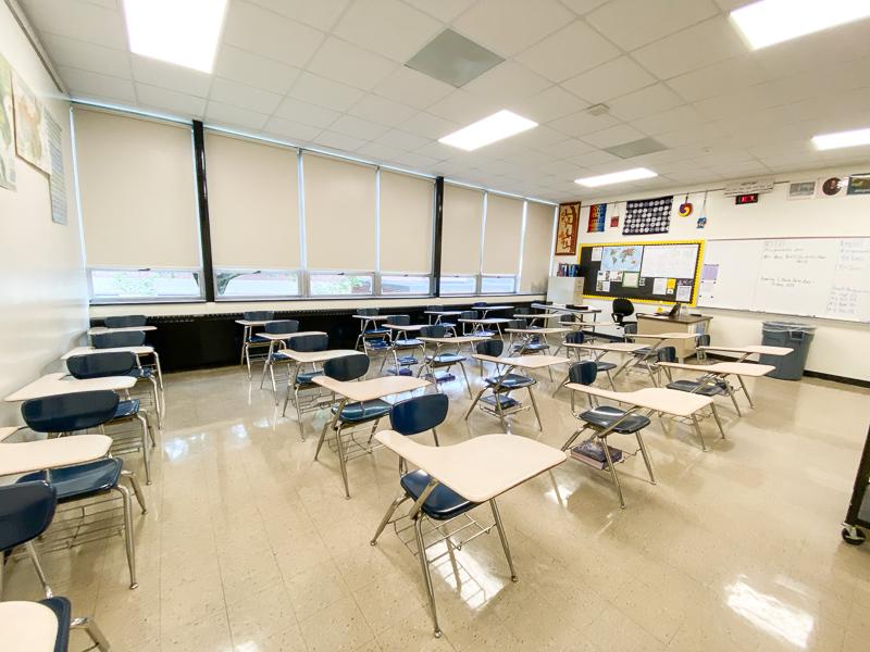 high school classroom photo
