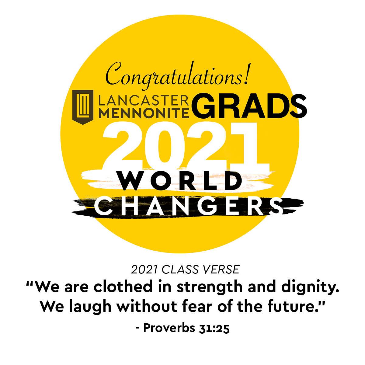 2021 grads congrats and class verse
