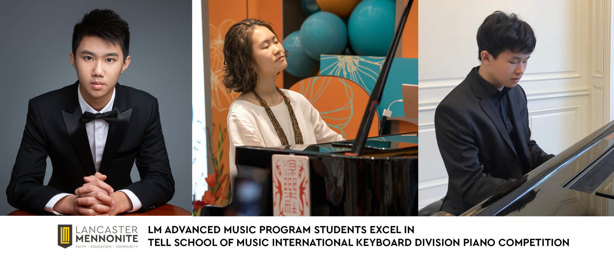 students in LM advanced music program