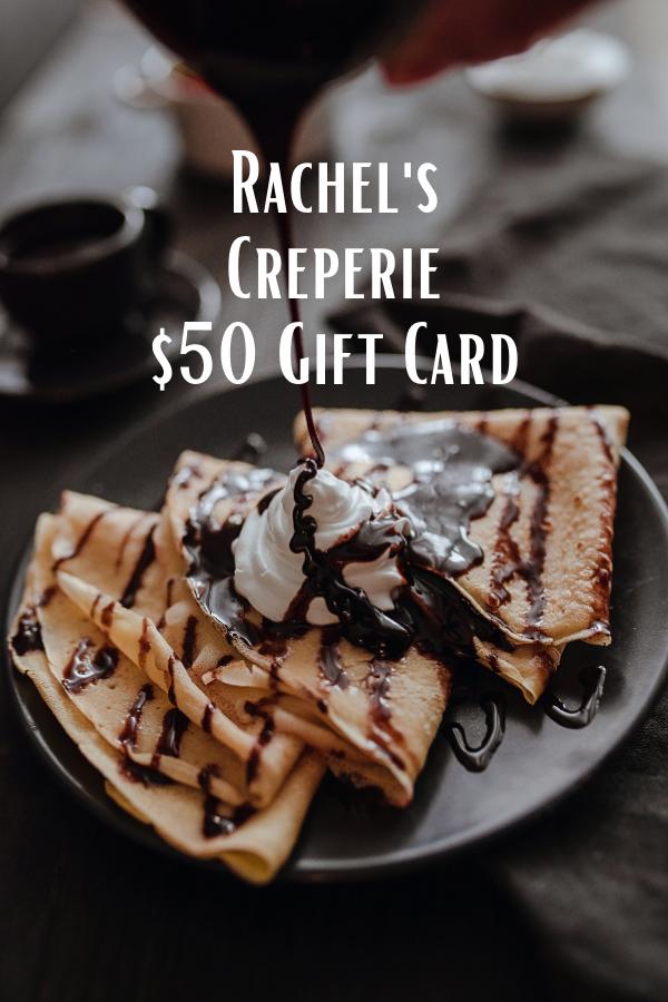 rachel's creperie giftcard