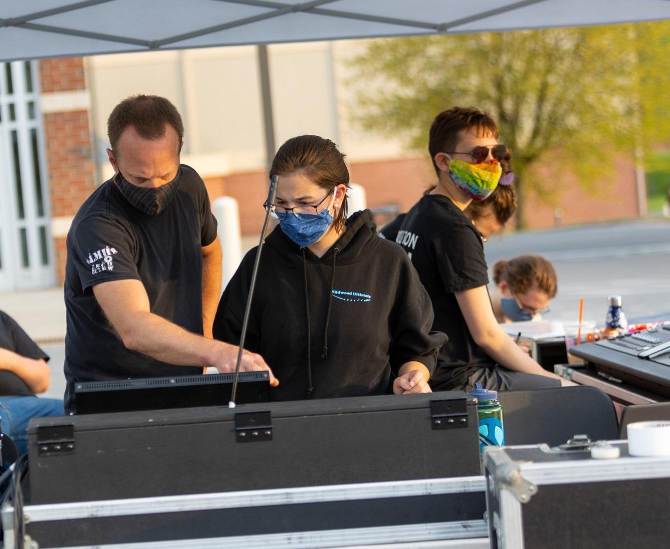 tech crew for spring drama