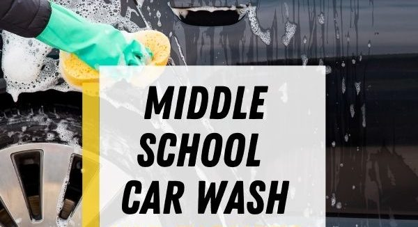 middle school car wash