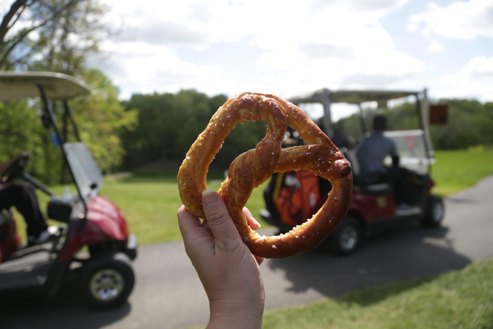 soft pretzel photo