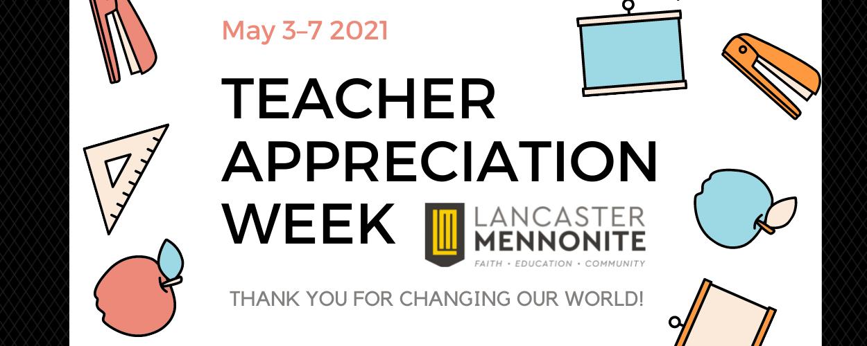 teacher appreciate week banner