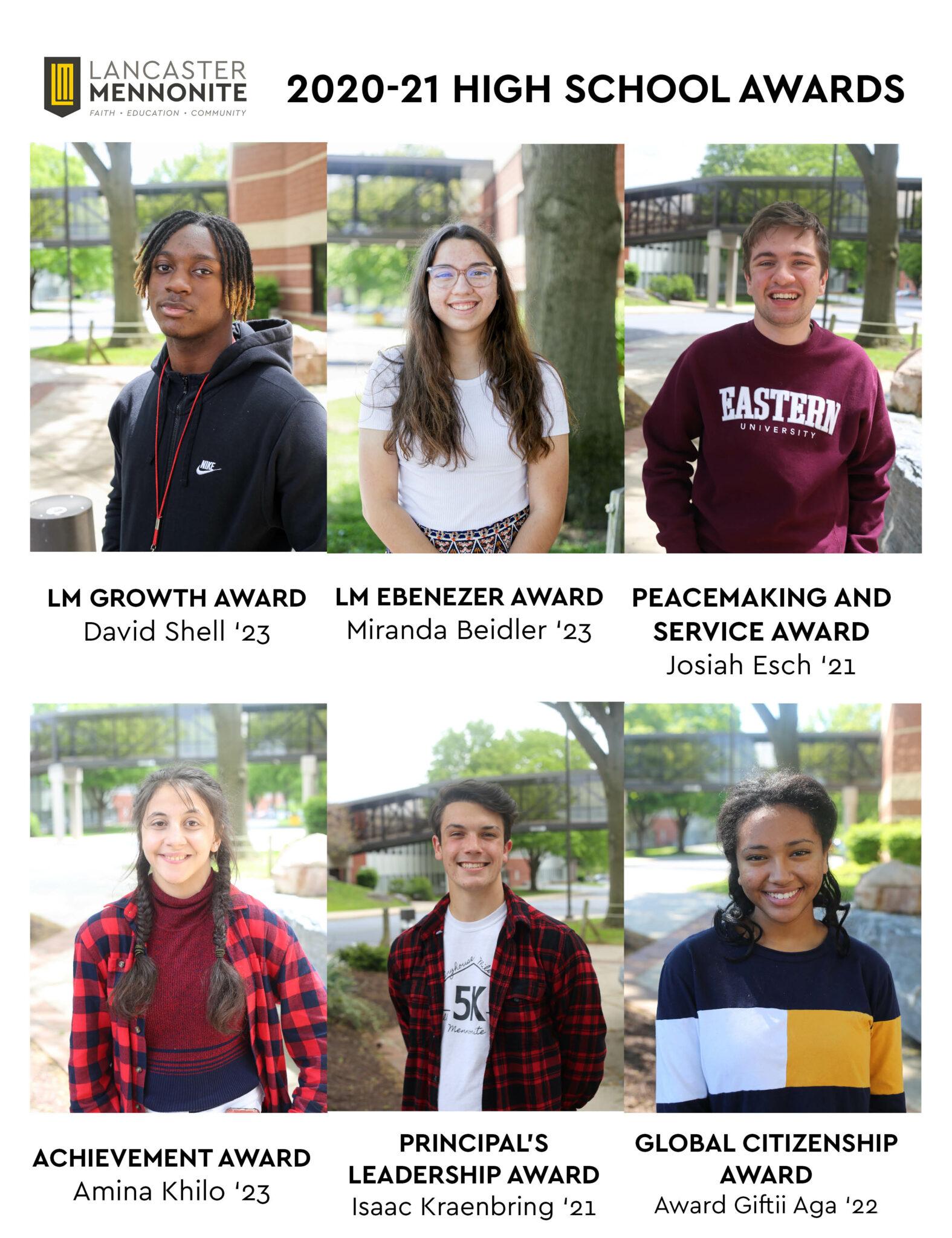 high school students winning awards
