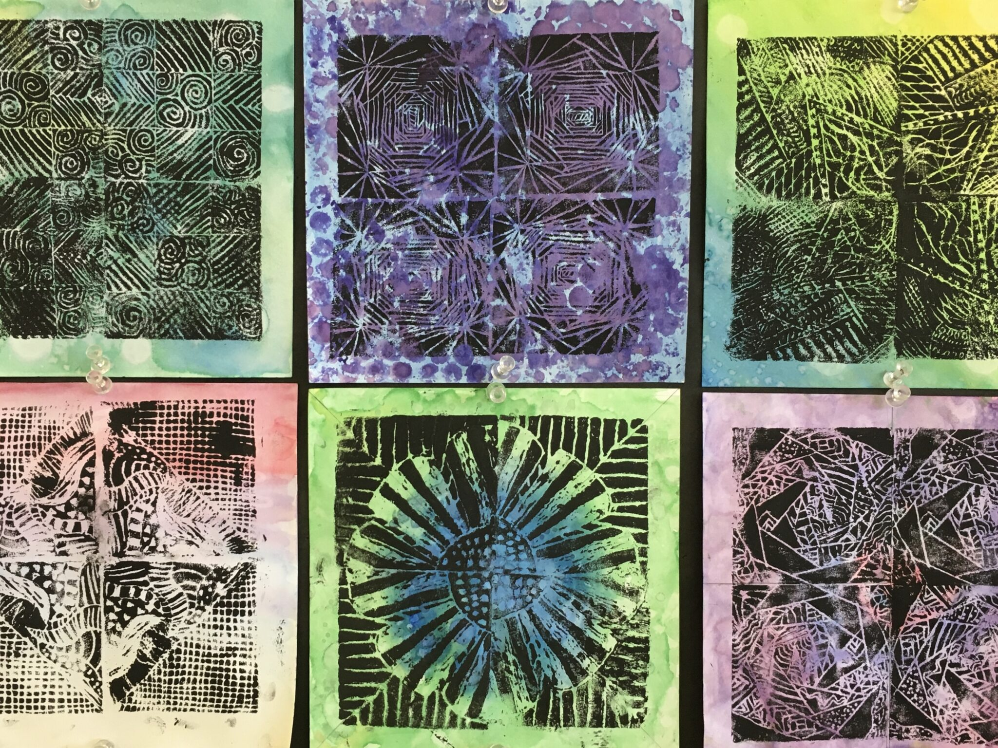 screenprinting square art
