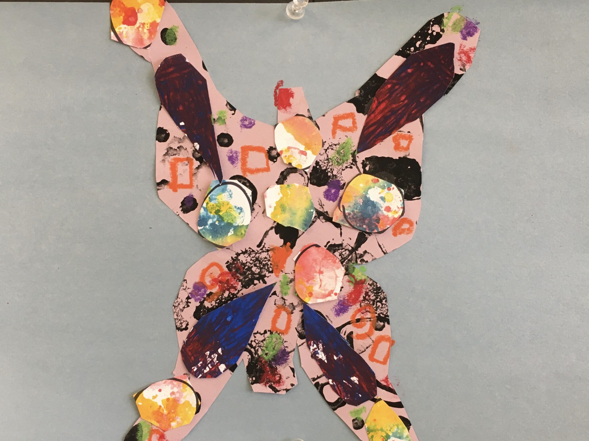 butterflies inspired by Eric Carle, author