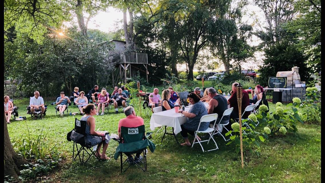 30th class reunion outdoor picnic