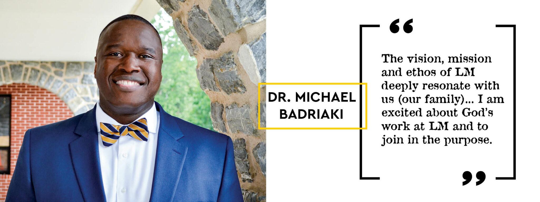 michael badriaki quote