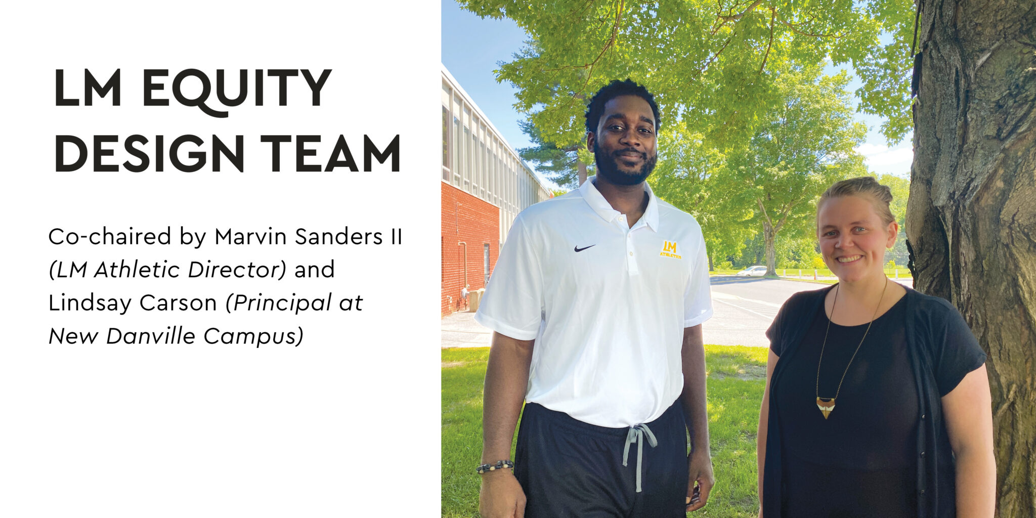 equity design team - marvin sanders and lindsay carson