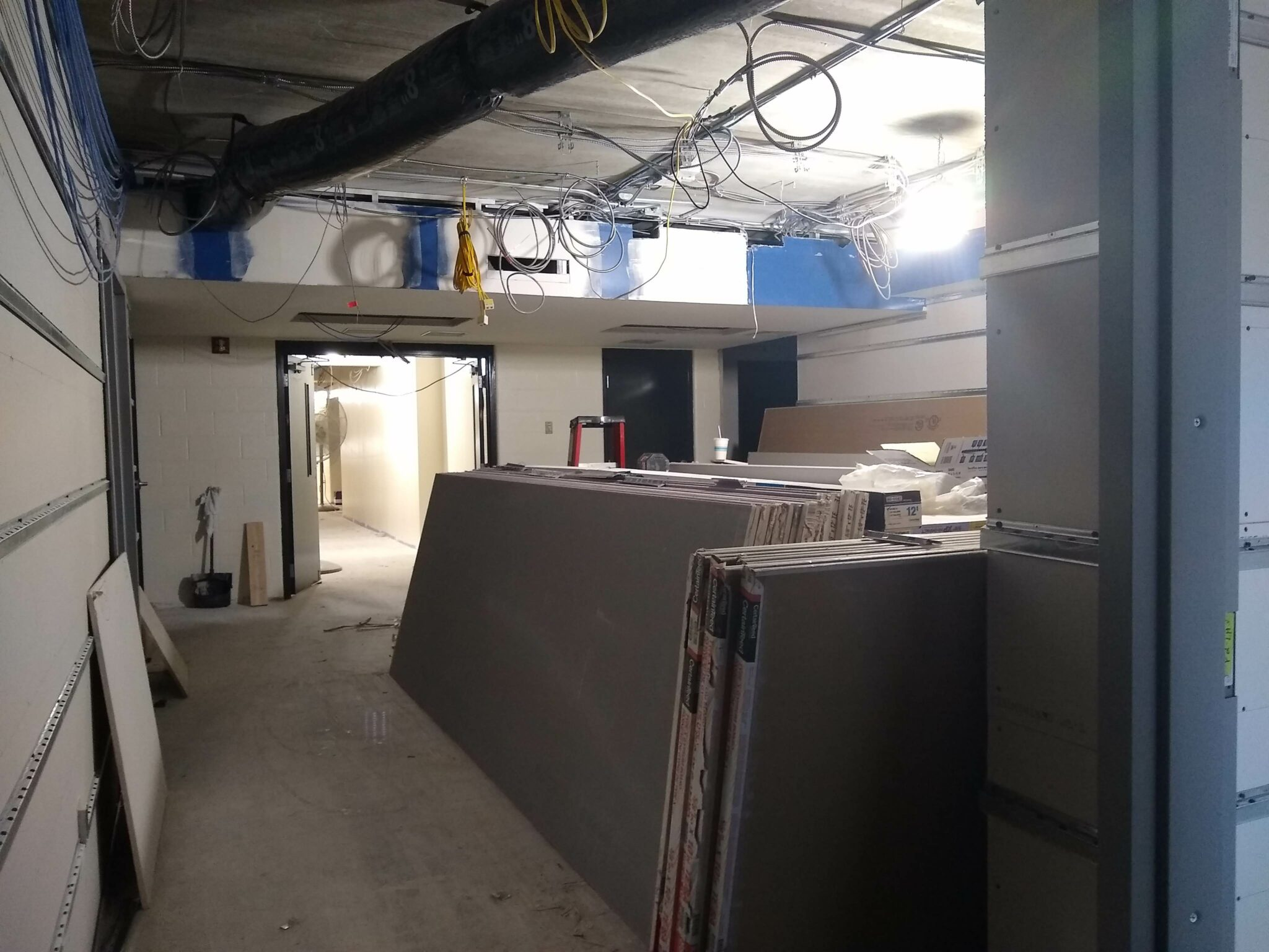 hs ms offices being renovated