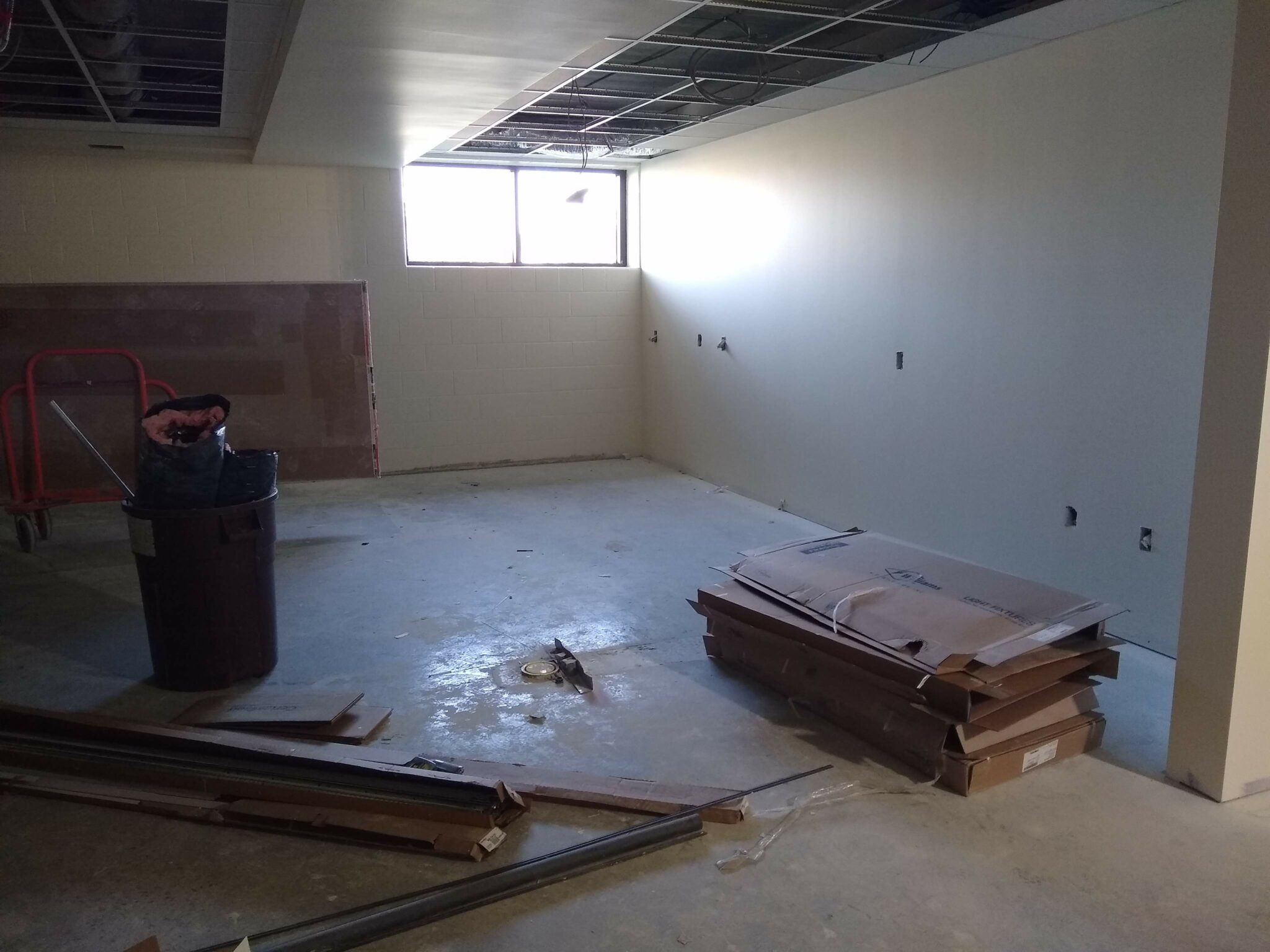 hs ms offices in progress