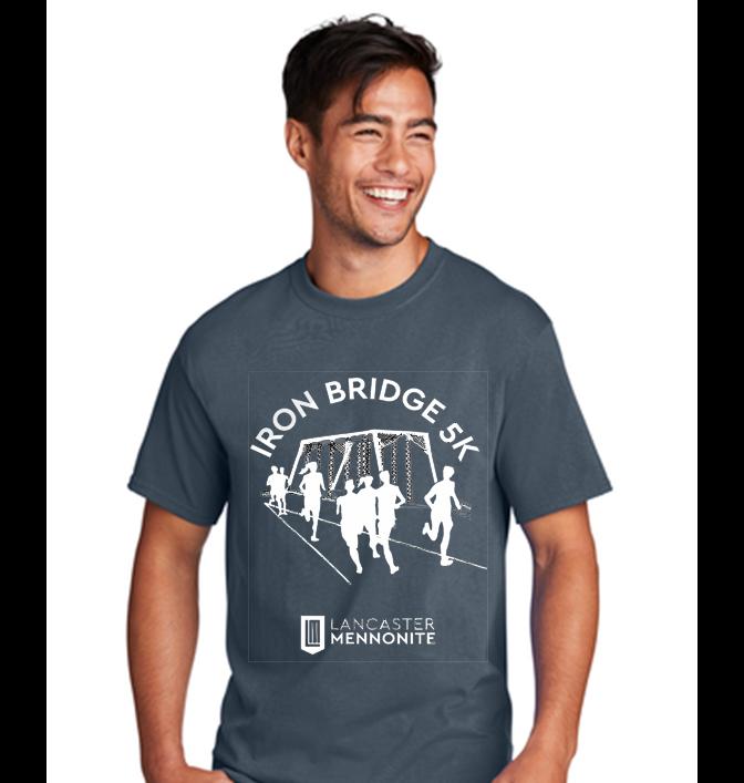 iron bridge run shirt logo 2021