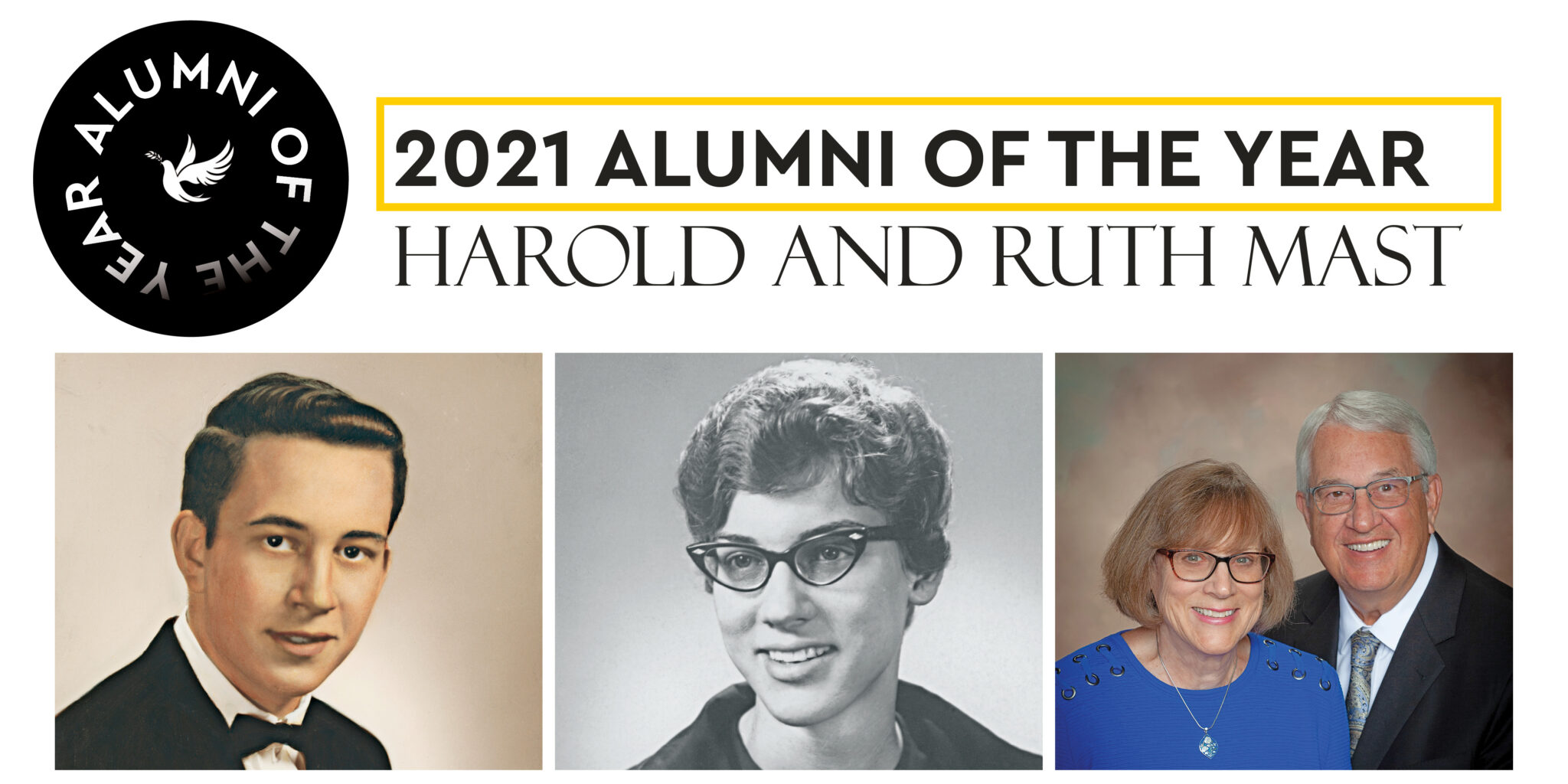 ruth & harold mast alumni of the year