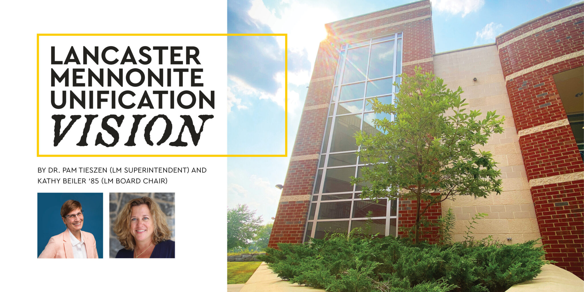 pam kathy photos and front of rutt building story feature